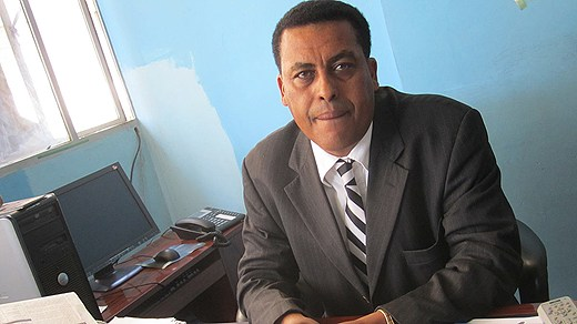 Ethiopia's foreign ministry spokesperson, Ambassador Dina Mufti