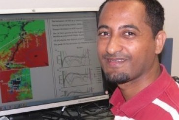 PhD student Woubet Alemu wins NASA grant for research projects