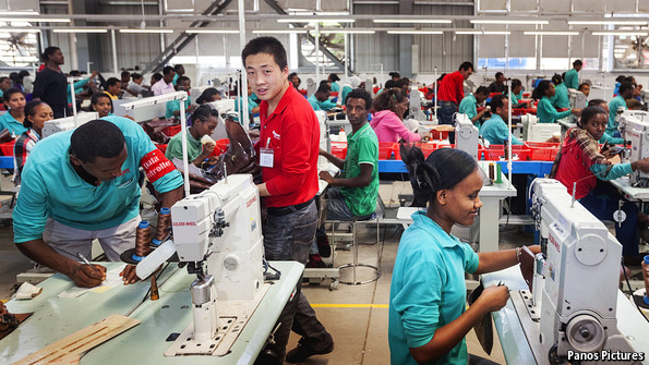 chinese shoe factory Ethiopia