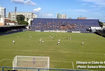 Ethiopian Walia lost 1-0 to Clube do Remo on Friendly Match
