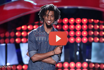 "Menlik Zergabachew Audition on NBC The Voice  ""Santeria"""