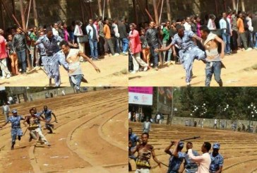 Ethiopians Protest and Police Clash in Video & Photos