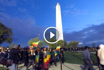 Ethiopians in Washington DC Area Remembered Victims of ISIS – Videos and Photos