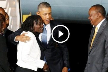 President Obama Has Arrived in Kenya (VIDEO)
