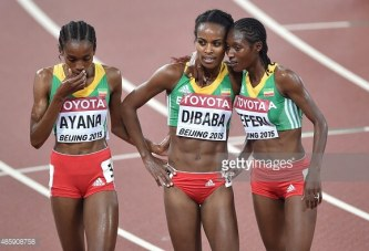 Ethiopians Wins All at Beijing Womans 5000 (VIDEO)