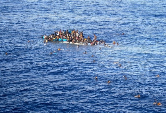 A Boat Packed with 700 Migrants Capsized in Mediterranean, Hundreds Feared Dead