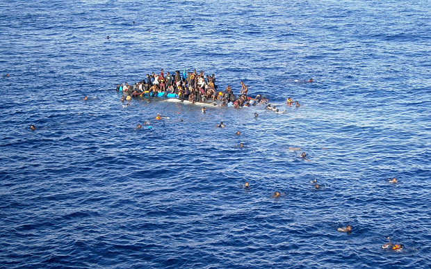 Hundreds feared drowned off Libya after fishing boat capsizes - (photo file)