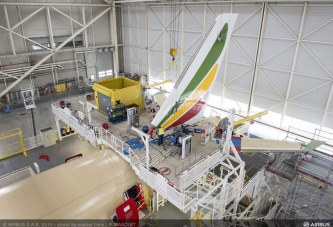 Ethiopian Airlines First Airbus A350 XWB On Final Finish