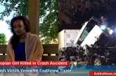 Newly Graduated Ethiopian Girl Killed In A Crash Accident