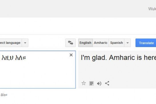 Google Adds Amharic and 12 New Languages To Google Translate