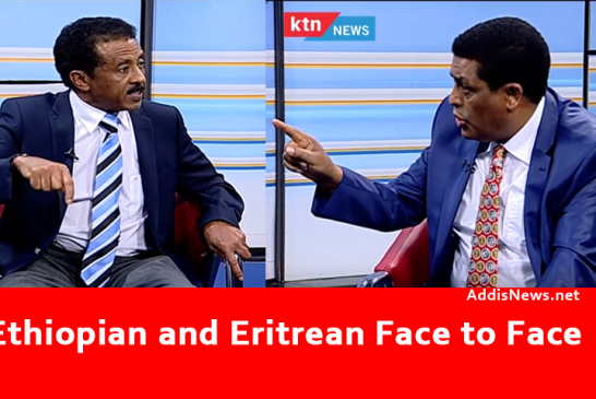 Face to Face – Ethiopian and Eritrea Ambassadors Argue on TV