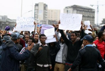 In Addis Ababa Security Forces Use Tear Gas to Disperse Protests – Reuters
