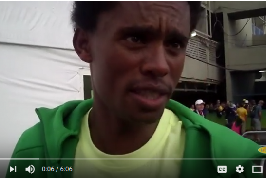 Feyisa Lilesa Speaks Out About Killings of Oromo Protesters in Ethiopia ( VIDEO)