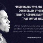 Ethiopian Olympian Feyisa: Prime Minister's Claims I Was Coerced into Protest Are 'False and Insulting'