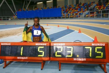 Genzebe Dibaba of Ethiopia Breaks 2000m World Record