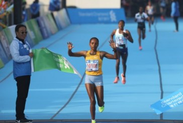 Ethiopia's Melaku Belachew breaks men's record at 2017 Hong Kong Marathon