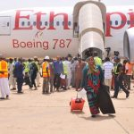 Ethiopian B787 Dreamliner Touches Down at Kaduna, Nigeria
