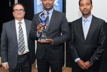 Ethiopian Catering Voted Outstanding Food Service by a Carrier in Africa