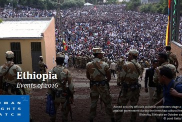 Letter To U.S. Congress – Support Respect for Human Rights in Ethiopia