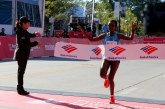 Ethiopia's Tirunesh Dibaba dusts women's field at Chicago Marathon
