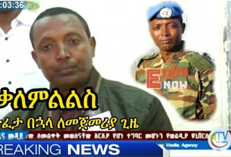 Colonel Demeke Zewdu Released – Interview with Amhara TV
