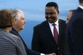 Secretary of State Rex Tillerson arrives in Ethiopia