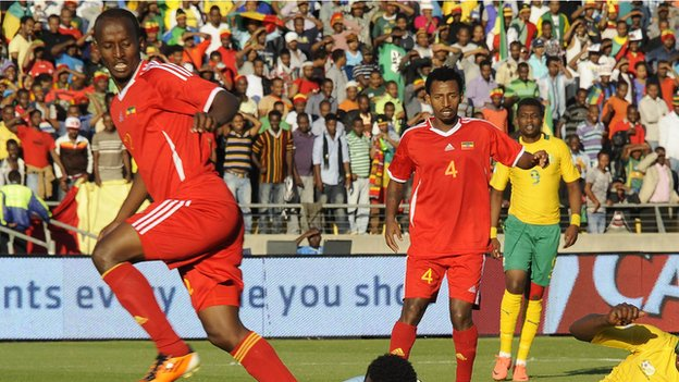 Ethiopia wants Eritrea matches moved to neutral stadium