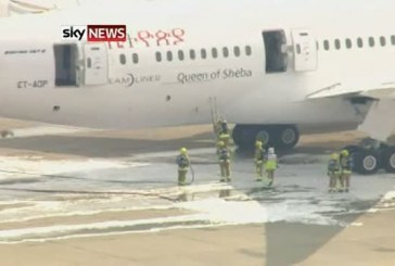 Update 1 : Fire on Ethiopian Airlines Boeing 787 Dreamliner Flight – London Heathrow