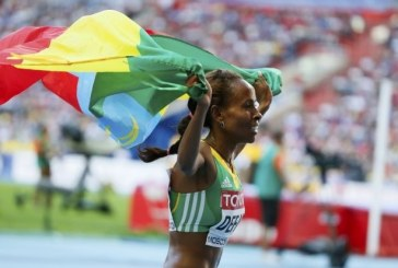 Meseret Defar Win's 5,000 As She Likes at Moscow IAAF