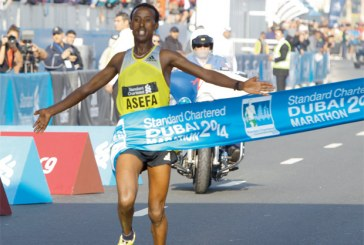 Ethiopians Men and Women Dominates Dubai Marathon