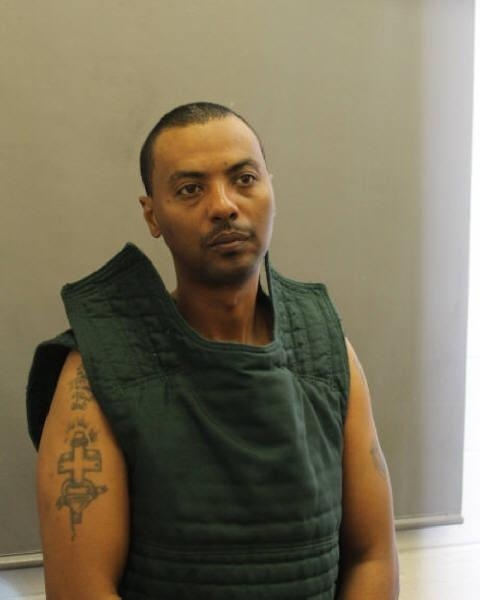 photo provided by the Fairfax County Police Department, in Virginia, shows prisoner Wossen Assaye.