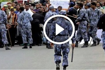 VIDEO – Thousands of Ethiopians March Against ISIS Turned To Clash With Police