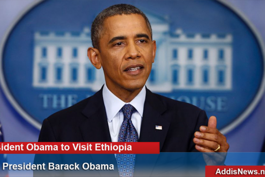 President Obama to Visit Ethiopia, African Union in July