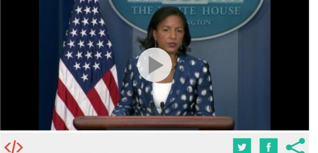 Obama's National Security Adviser Susan Rice Laughed at EPRDF's 100% Win (VIDEO)