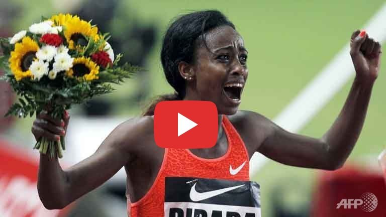 BREAKING - Genzebe Dibaba of Ethiopia breaks the 22-years-old record for 1500 meter (VIDEO)