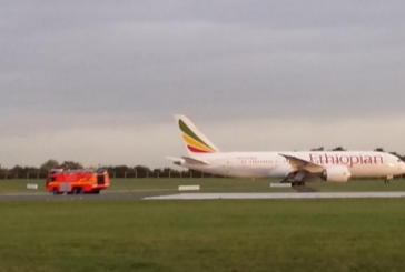 Ethiopian Airlines Plane Made Emergency Landing at Dublin Airport