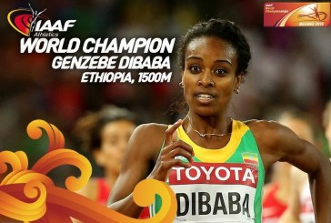 GENZEBE DIBABA and EATON CROWNED 2015 IAAF WORLD ATHLETES OF THE YEAR