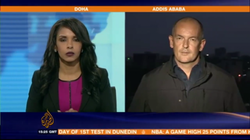Al Jazeera Journalists Detained Briefly in Addis Ababa - VIDEO