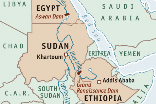Egypt, Sudan and Ethiopia are struggling to share the Nile