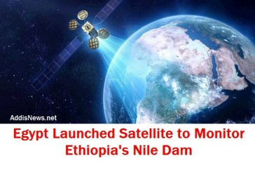 Egypt Launched Satellite to Monitor Nile Dam Construction