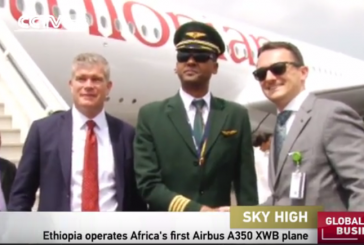 AerCap Delivers First of Two New Airbus A350 XWB Aircraft to Ethiopian Airlines