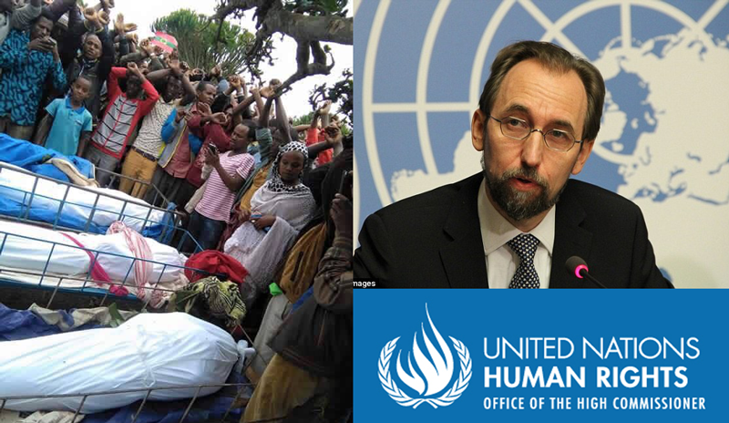 U.N. Human Rights Chief Urged Ethiopia to Allow Observers After Nearly 100 Killings