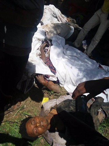 Oromia: Deadly Stampede at Ethiopia protest leaves 52 dead - BBC NEWS