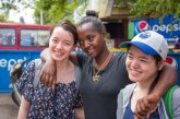Edmonton teen who beat cancer meets her 'sister' for first time in Ethiopia