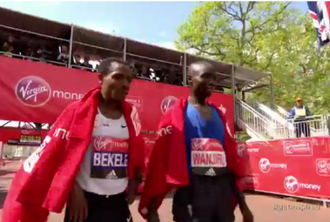Ethiopia's Kenenisa Bekele and Tirunesh Dibaba fall short of winning London Marathon