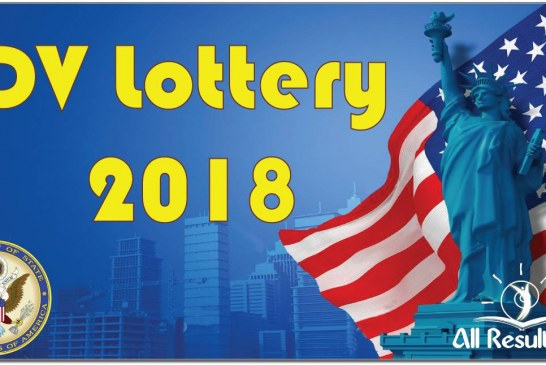 2018 DV Lottery result status check begins May 2, 2017