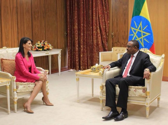Amb. Nikki Haley made first stop in Ethiopia on her Africa tour