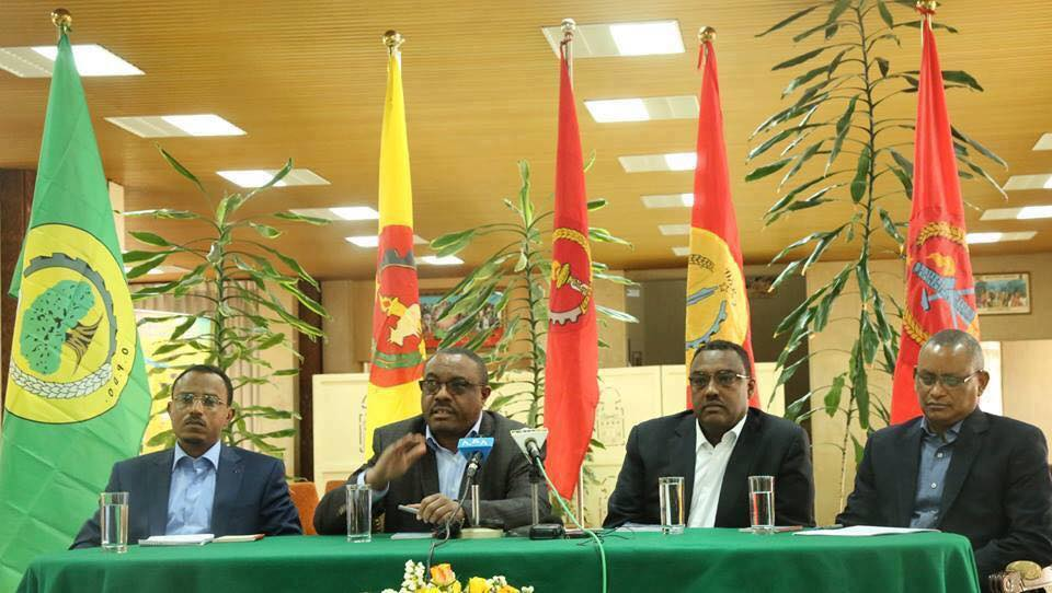 hailemariam all political prisoners release Ethiopian news
