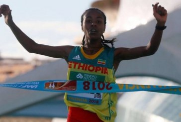 Ethiopia's Netsanet Gudeta shatters women's record at world half marathon