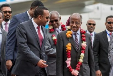 Eritrea delegation arrives in Ethiopia ahead of landmark talks